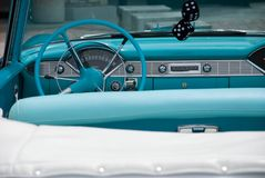 Automobile convertibile classica 1956 fotografia stock