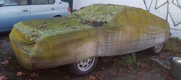 Automobile coperta sporca Fotografia Stock Libera da Diritti