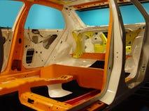 Automobile costolata Immagini Stock