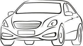Automobile costosa Fotografie Stock