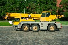 Automobile crane Stock Photography