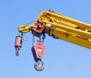 Automobile crane royalty free stock image
