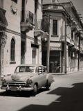 Automobile cubana dell'annata fotografie stock libere da diritti