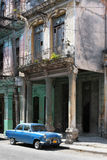 Automobile cubana dell'annata fotografia stock libera da diritti