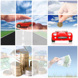 Automobile d'acquisto. Fotografie Stock Libere da Diritti