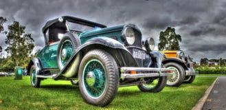 Automobile d'annata dell'americano degli anni 20 Fotografia Stock Libera da Diritti