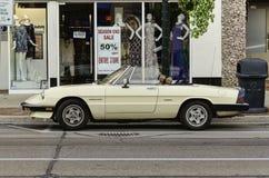 Automobile d'annata di Alpha Romeo Spider Fotografie Stock Libere da Diritti
