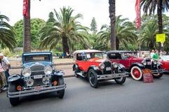 Automobile d'annata di Chevrolet nei saloni dell'automobile classici il giorno dell'Australia Fotografia Stock Libera da Diritti