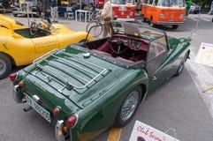 Automobile d'annata di Triumph Fotografie Stock Libere da Diritti