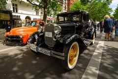 Automobile d'annata Ford Model un affare Coupe, 1931 Fotografia Stock Libera da Diritti