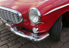 Automobile d'annata Front Details Fotografia Stock