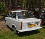 Automobile d'annata Trabant 501 parcheggiato Fotografie Stock