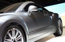 Automobile d'argento Fotografia Stock Libera da Diritti