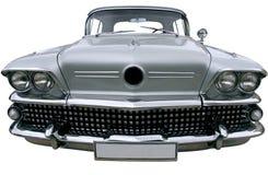 Automobile d'argento d'annata Fotografia Stock Libera da Diritti