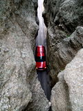 Automobile dans les montagnes Photographie stock
