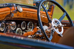 Automobile dashboard Royalty Free Stock Image