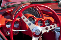Automobile dashboard Royalty Free Stock Images