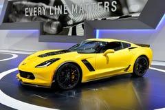 Automobile de Corvette C7 Photographie stock libre de droits