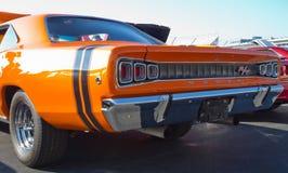 Automobile de Dodge du classique 1968 Image libre de droits
