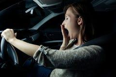 Automobile de nuit image libre de droits