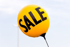 Automobile dealership balloon Royalty Free Stock Photography