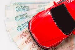 automobile dei soldi Immagini Stock Libere da Diritti
