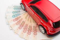 automobile dei soldi Immagini Stock