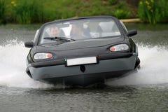 Automobile del Aqua Fotografia Stock