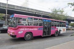 Automobile del bus di 207 Bangkok Fotografie Stock