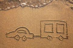 Automobile del caravan fotografia stock libera da diritti