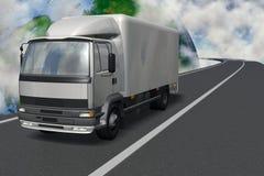 Automobile del carico royalty illustrazione gratis