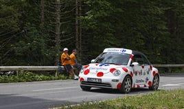 Automobile del Carrefour Fotografia Stock Libera da Diritti