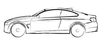 Automobile del circuito Royalty Illustrazione gratis