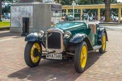 Automobile 1935 del classico di Austin Seven dell'annata fotografia stock libera da diritti