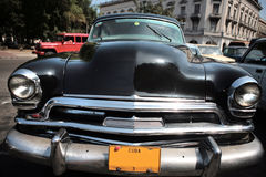 Automobile del cubano dell'annata fotografia stock