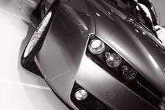 Automobile del faro Fotografia Stock Libera da Diritti