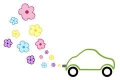 Automobile del fiore Fotografia Stock Libera da Diritti