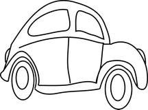 Automobile del fumetto Fotografia Stock