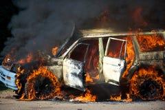 Automobile del fuoco Immagini Stock Libere da Diritti