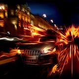 Automobile del fuoco Immagine Stock