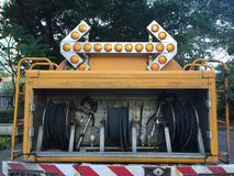 Automobile del getto di acqua Immagini Stock Libere da Diritti