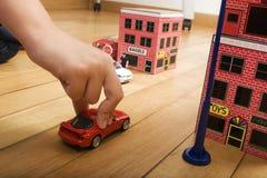 Automobile del giocattolo Immagine Stock