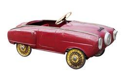 Automobile del giocattolo dell'annata Fotografie Stock Libere da Diritti