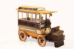 Automobile del giocattolo dell'annata Fotografia Stock