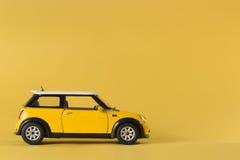 Automobile del giocattolo di Mini Cooper S immagini stock