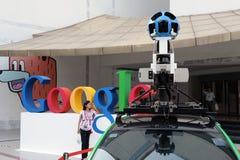 Automobile del Google Maps a Bangkok Immagine Stock