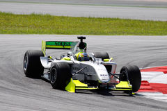 Automobile del GP del Brasile A1 della squadra fotografia stock libera da diritti