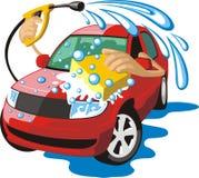 Automobile del lavaggio illustrazione di stock