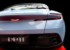 Automobile del lusso di DB 11 di Aston Martin Fotografia Stock Libera da Diritti