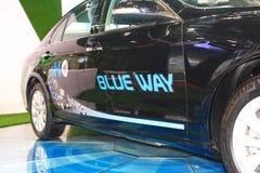 Automobile del nero del phev di Hongqi h7 Fotografie Stock Libere da Diritti